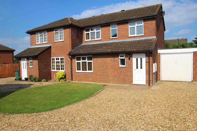 3 Bedrooms Semi Detached House for sale in Deerfield Close, Buckingham