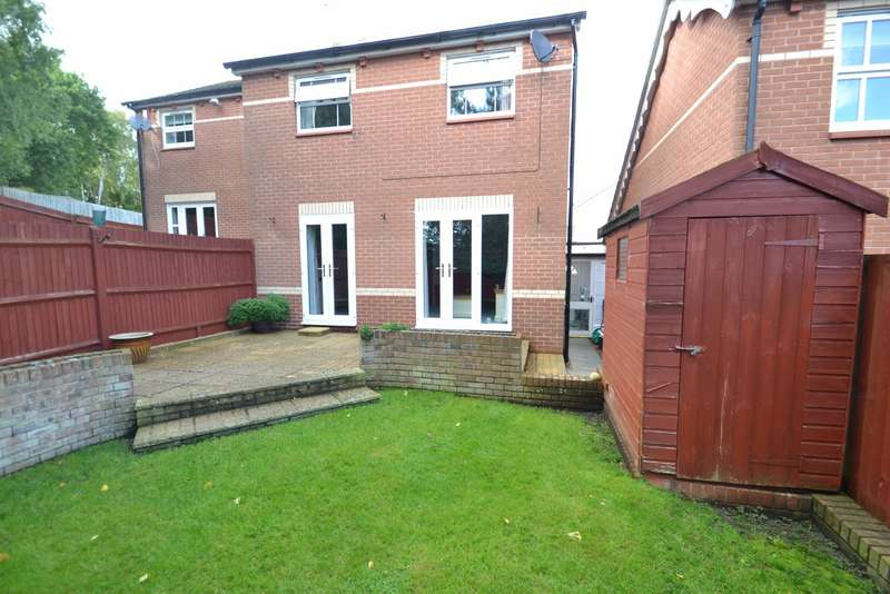 3 Bedrooms Semi Detached House for sale in Canford Heath West