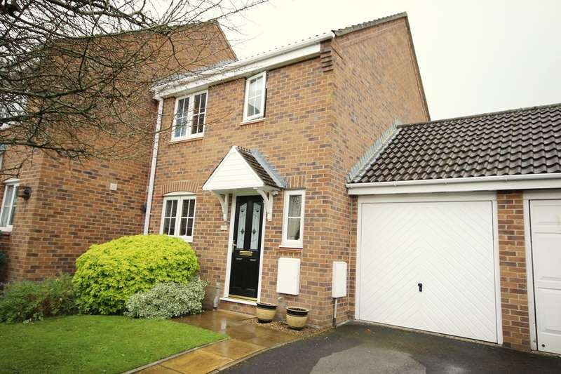 3 Bedrooms End Of Terrace House for sale in Albion Way, Verwood, BH31