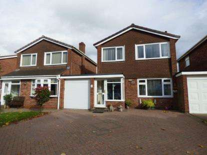 3 Bedrooms Link Detached House for sale in Willoughby Road, Tamworth, Staffordshire