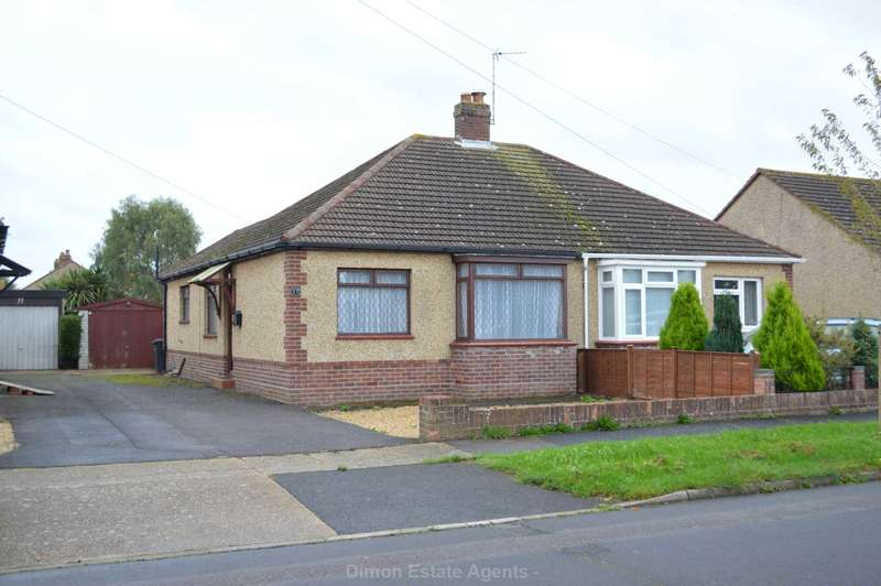2 Bedrooms Semi Detached Bungalow for sale in Gorran Avenue, Rowner