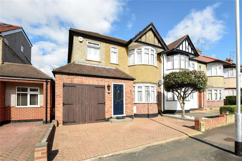 4 Bedrooms End Of Terrace House for sale in Beverley Road, Ruislip, Middlesex, HA4