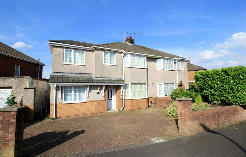 4 Bedrooms Semi Detached House for sale in Dorset Crescent, Newport, NP19