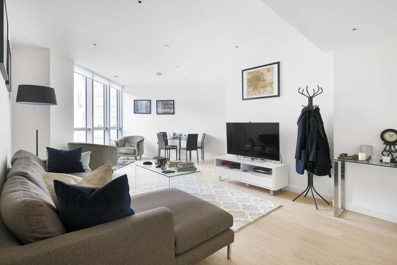 1 Bedroom Flat for sale in Charrington Tower, Canary Wharf, E14