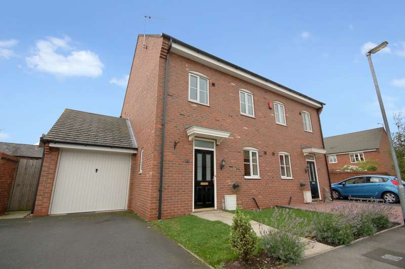 4 Bedrooms Semi Detached House for sale in John Ford Way , Sandbach, CW11