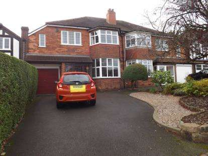 4 Bedrooms Semi Detached House for sale in Reservoir Road, Olton, Solihull
