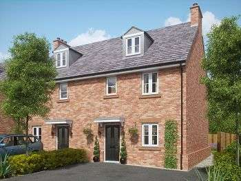 4 Bedrooms Semi Detached House for sale in Church View, Davenham