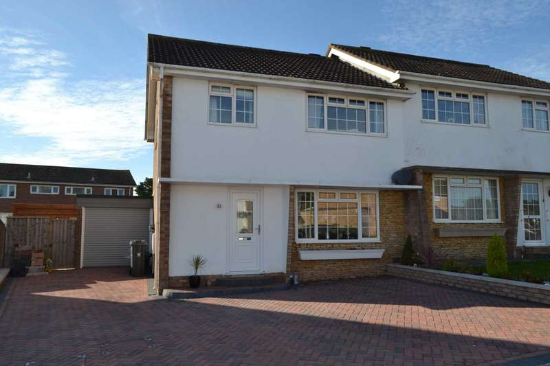 3 Bedrooms Semi Detached House for sale in Winston Road, Exmouth