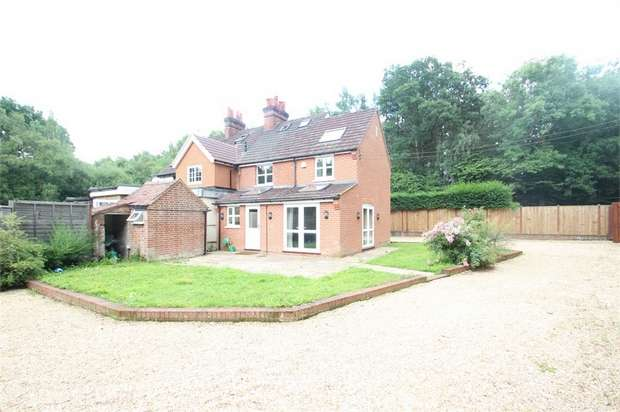 4 Bedrooms Semi Detached House for sale in 1 Pirbright Road, Normandy, Guildford, Surrey