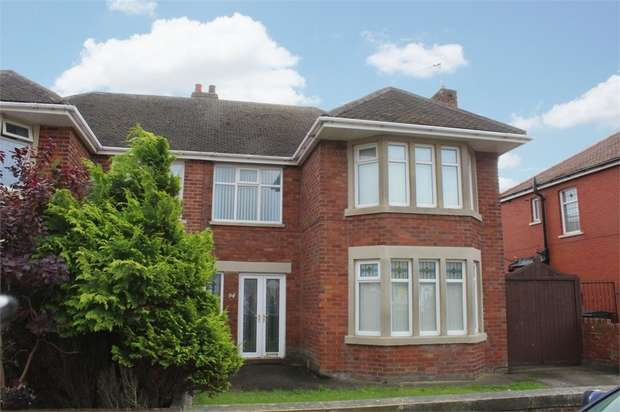 Semi Detached House for sale in St Martins Road, Blackpool, Lancashire