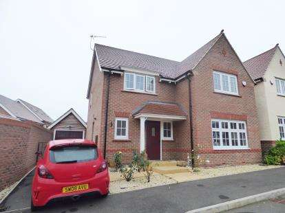 4 Bedrooms Detached House for sale in Sigwels Road, Cawston, Rugby, Warwickshire