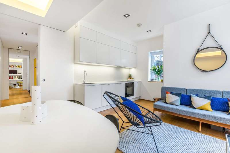 1 Bedroom Flat for sale in Bassett Road, North Kensington, W10