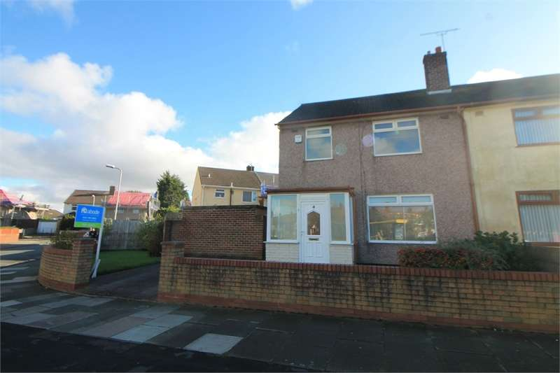 3 Bedrooms Semi Detached House for sale in Gorsey Avenue, NETHERTON, Merseyside