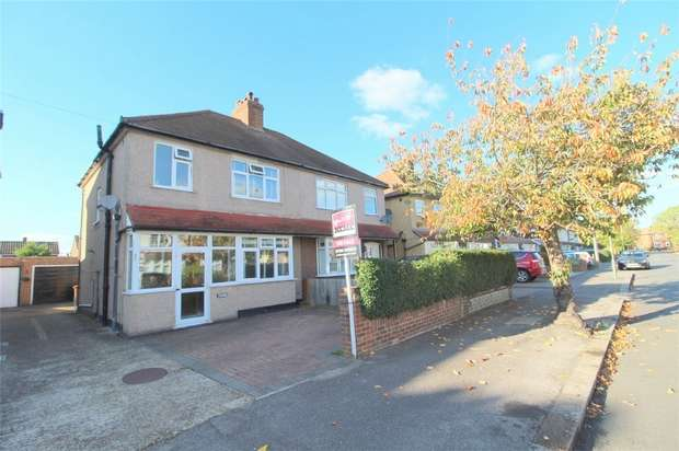 3 Bedrooms Semi Detached House for sale in Avondale Road, Ashford, Middlesex