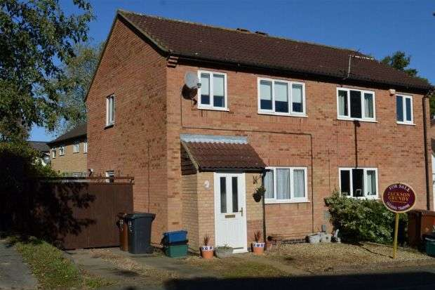 3 Bedrooms Semi Detached House for sale in Morgan Close, Rectory Farm , Northampton NN3 5JH