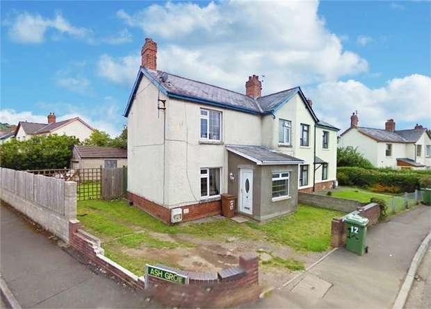 3 Bedrooms Semi Detached House for sale in Bryn-Y-Fran Avenue, Trethomas, Caerphilly