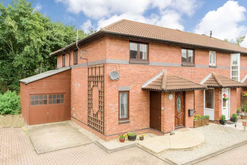 4 Bedrooms Semi Detached House for sale in Bentall Close, Willen