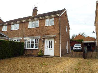 2 Bedrooms Semi Detached House for sale in Gatehouse Lane, South Luffenham, Oakham, Rutland