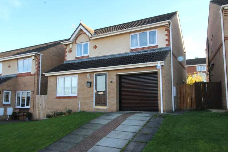 3 Bedrooms Detached House for sale in Appletree Drive, Prudhoe, NE42