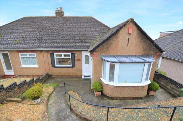 2 Bedrooms Semi Detached Bungalow for sale in Darwin Crescent, Plymouth, Devon