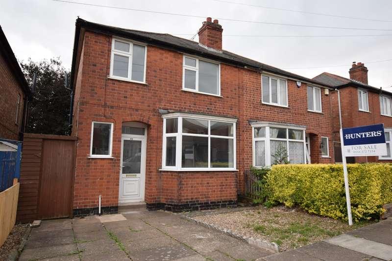 3 Bedrooms Semi Detached House for sale in Landseer Road, Leicester, LE2 3EF