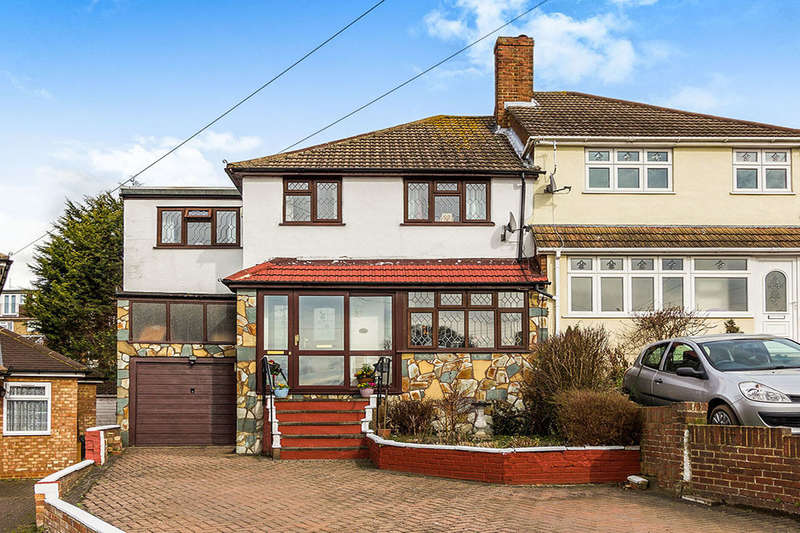 4 Bedrooms Semi Detached House for sale in Coombfield Drive, DARTFORD, DA2