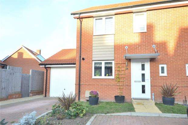 3 Bedrooms Semi Detached House for sale in Barber Road, Basingstoke, Hampshire