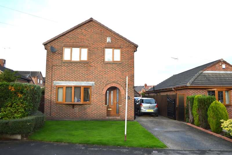 3 Bedrooms Detached House for sale in Moorhouse Court, South Elmsall, Pontefract, WF9