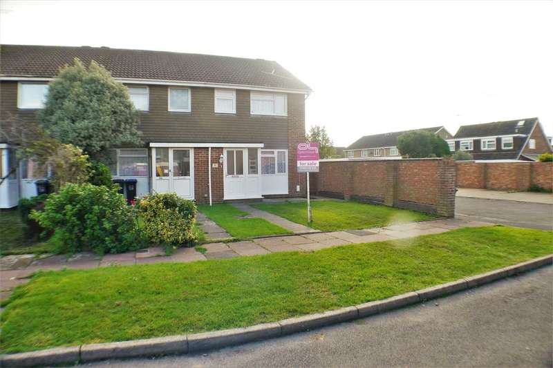3 Bedrooms End Of Terrace House for sale in Avalon Way, Worthing
