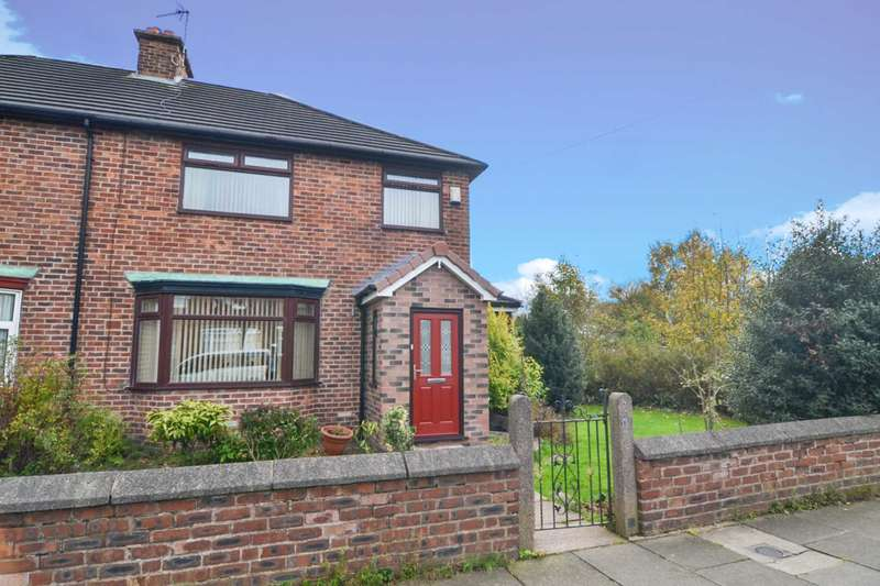 3 Bedrooms Semi Detached House for sale in Belvedere Road, Newton Le Willows