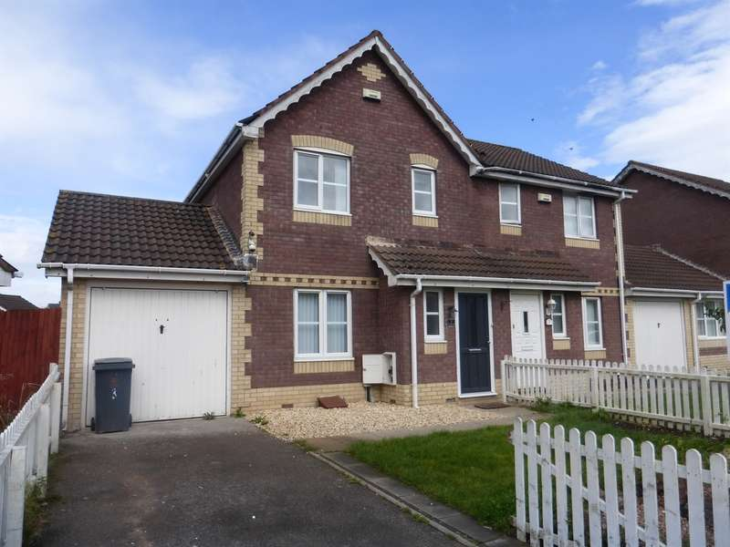 3 Bedrooms Semi Detached House for sale in Ireland Close, St. Mellons, Cardiff