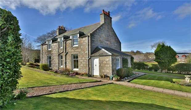 4 Bedrooms Detached House for sale in Oyne, Insch, Aberdeenshire