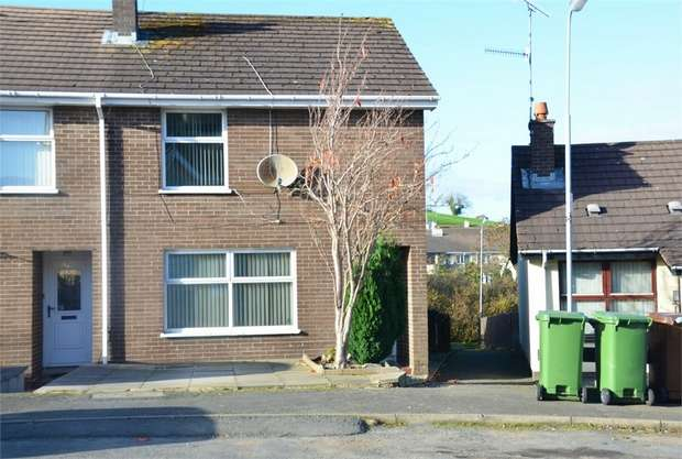 3 Bedrooms End Of Terrace House for sale in Moybrick Road, Dromara, Dromore, County Down