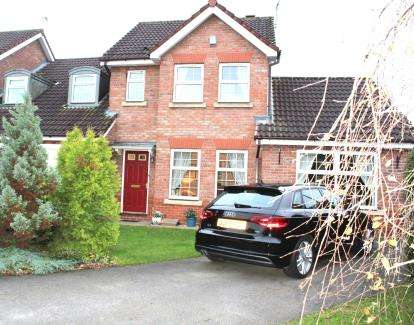 4 Bedrooms Link Detached House for sale in St. Georges Close, Appleton, Warrington, Cheshire