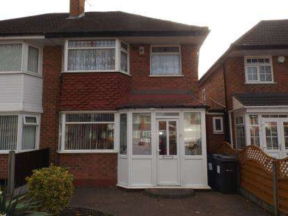 3 Bedrooms Semi Detached House for sale in Hodge Hill Road, Hodge Hill, Birmingham, West Midlands