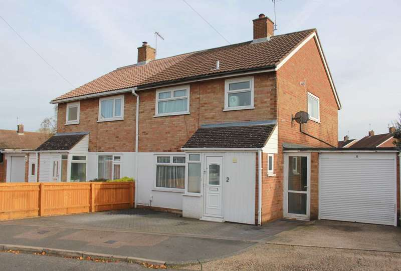 3 Bedrooms Semi Detached House for sale in SPACIOUS 3 DOUBLE BED SEMI DETACHED home with GARAGE and DRIVEWAY in HP1.
