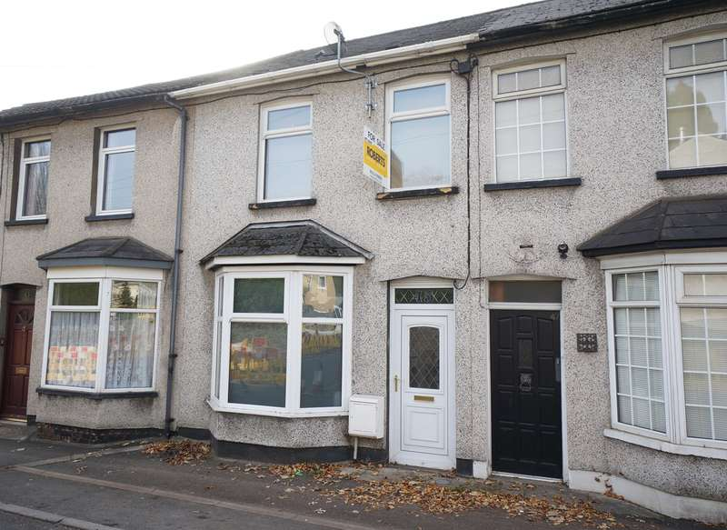 2 Bedrooms Terraced House for sale in Risca Road, Rogerstone, Newport, NP10