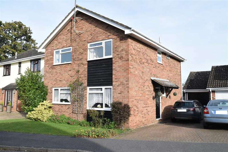 4 Bedrooms Detached House for sale in Gernon Close, Broomfield, Chelmsford