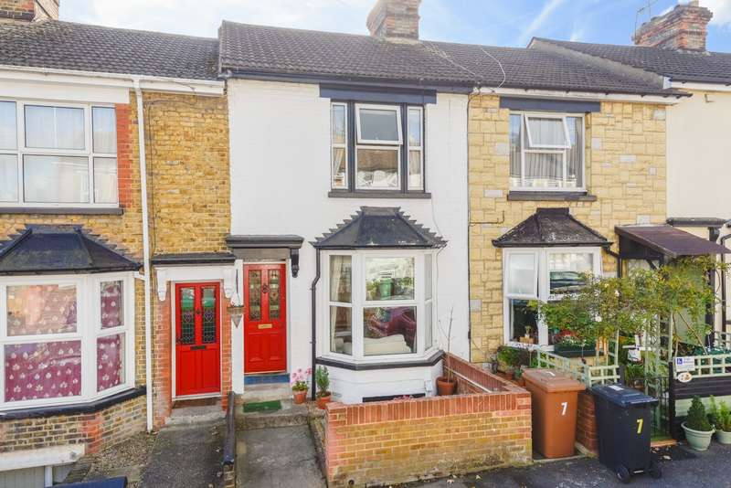 3 Bedrooms Terraced House for sale in Evelyn Road, Maidstone, ME16