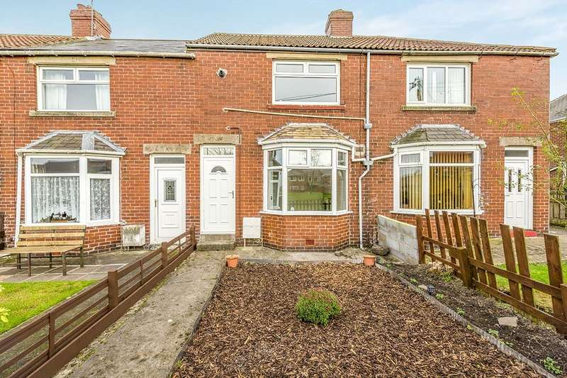 2 Bedrooms Terraced House for sale in Gladstone Gardens, Consett, DH8