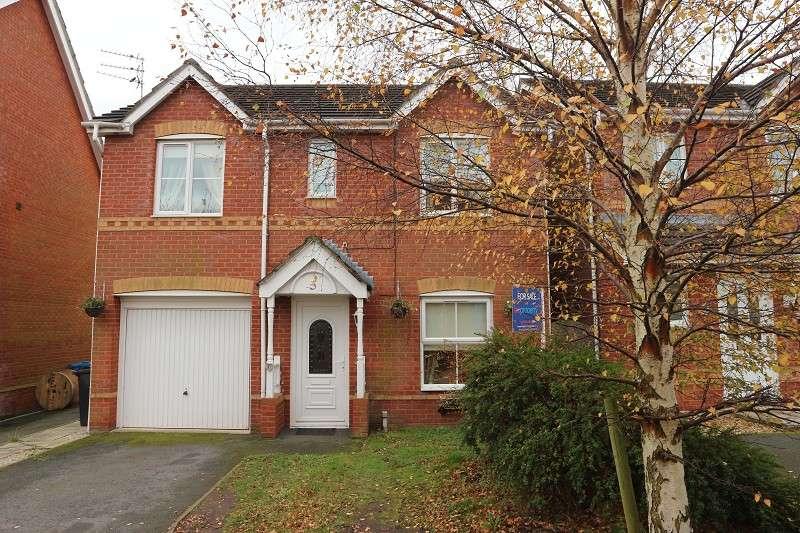 4 Bedrooms Property for sale in Alderton Close, Halewood, Liverpool, Merseyside. L26 9SB