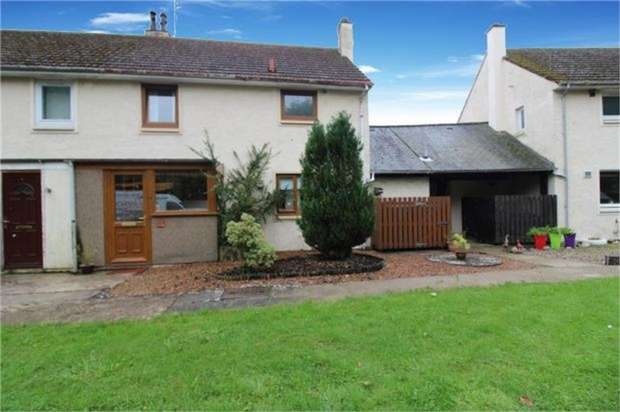 3 Bedrooms Terraced House for sale in Halsey Drive, Edzell, Brechin, Aberdeenshire