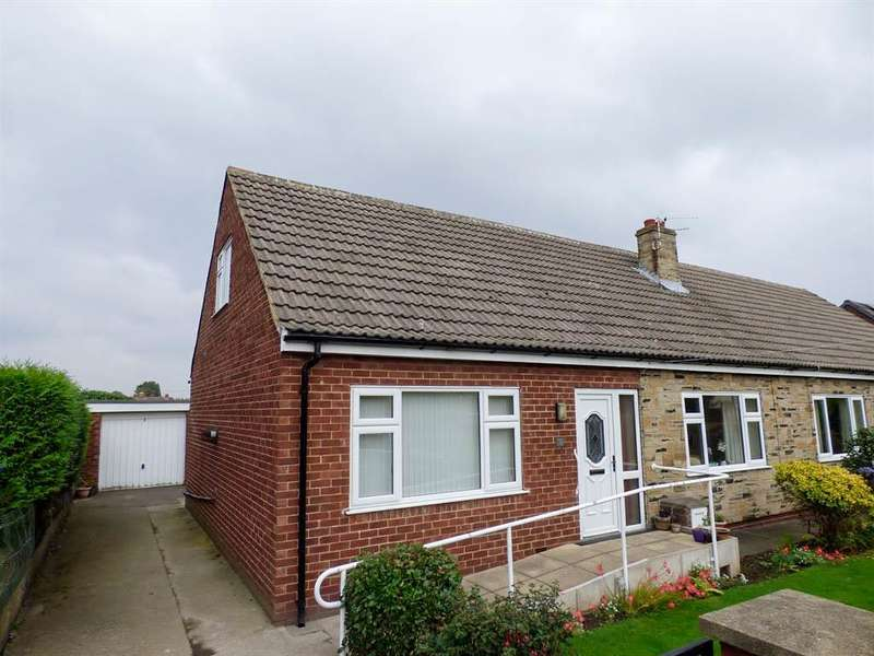 2 Bedrooms Semi Detached Bungalow for sale in Savile Place, Mirfield, WF14 0AJ