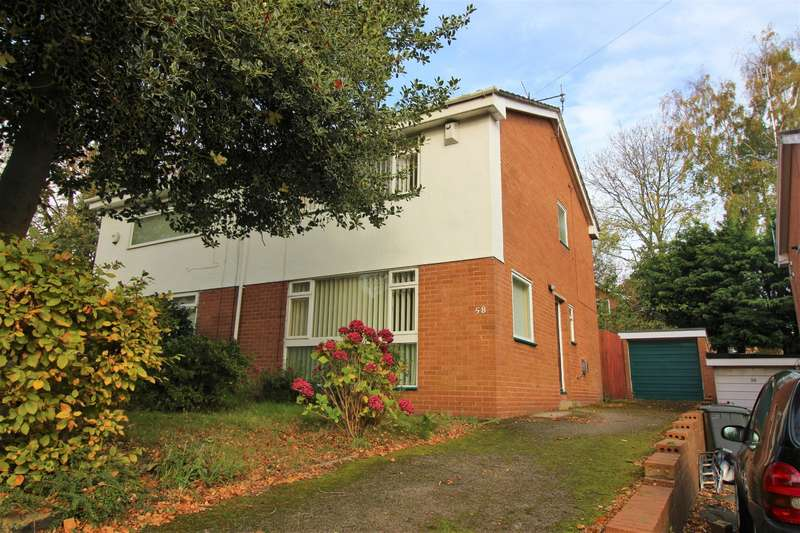 3 Bedrooms Semi Detached House for sale in Birch Road, Oxton, Wirral, CH43 5UA