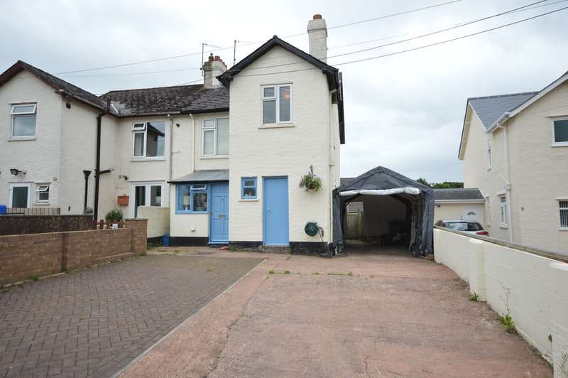3 Bedrooms Semi Detached House for sale in Coach Road, Silverton, Devon, EX5