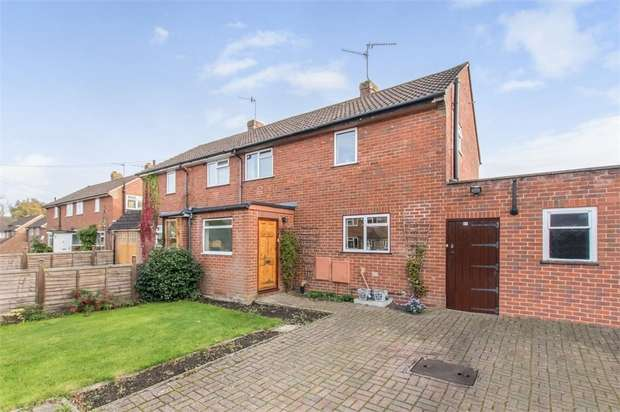 3 Bedrooms Semi Detached House for sale in Birch Road, Godalming, Surrey