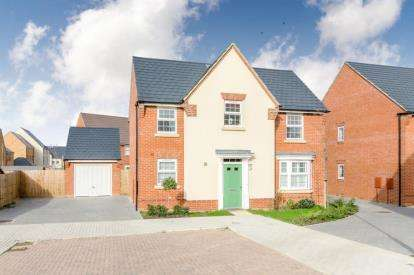 4 Bedrooms Detached House for sale in Swan Hunter Close, Brooklands, Milton Keynes