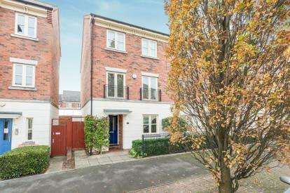4 Bedrooms End Of Terrace House for sale in Lion Court, City Centre, Worcester, Worcestershire