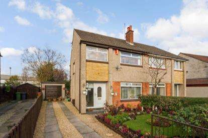 3 Bedrooms Semi Detached House for sale in Norfolk Crescent, Bishopbriggs, Glasgow, East Dunbartonshire