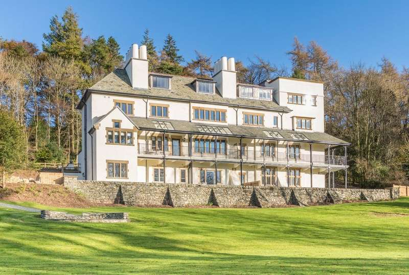 2 Bedrooms Flat for sale in Apartment 1, Applethwaite Hall, Windermere